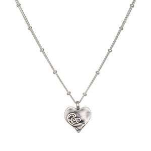 Spirit of Love Silver Necklace - Satya Jewelry