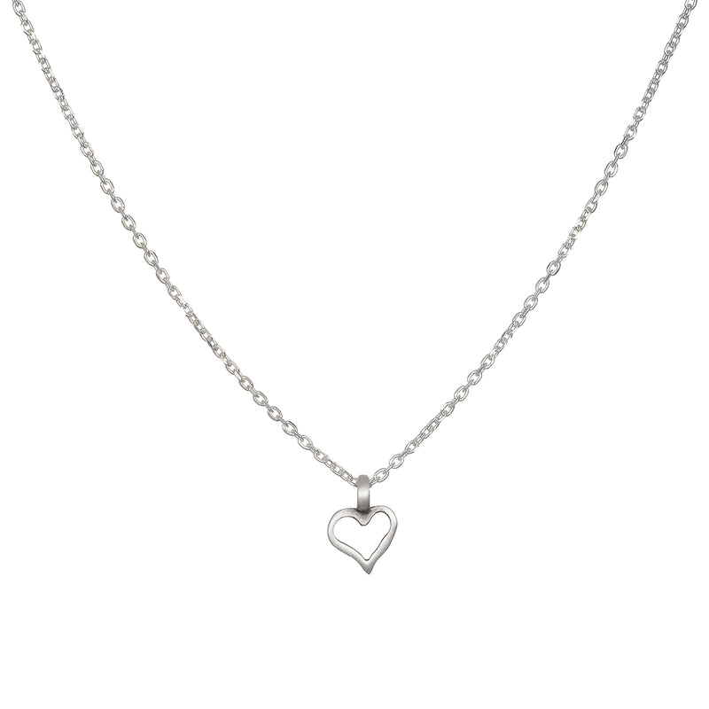 Expression of Love Silver Necklace - Satya Jewelry