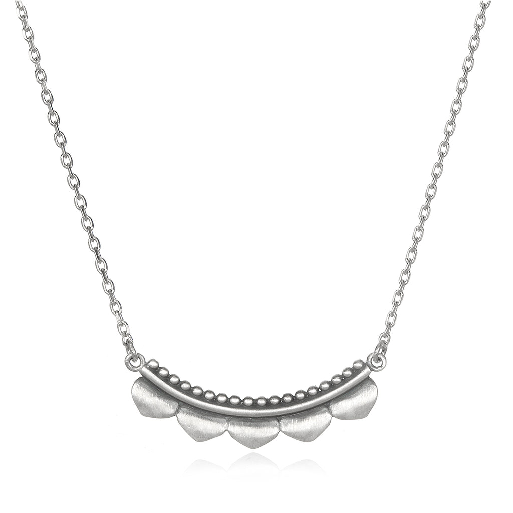 Embark on the Journey Silver Necklace - Satya Jewelry
