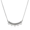 Embark on the Journey Silver Necklace