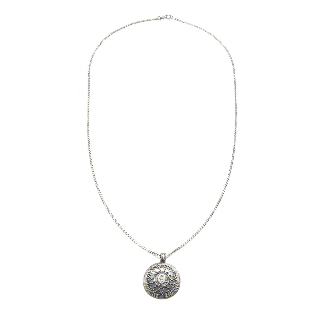 Silver Be Present Necklace