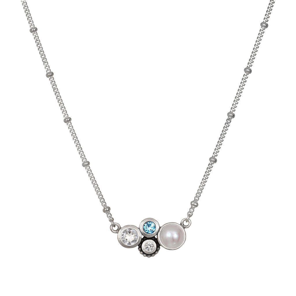 In Unity Silver Necklace - Satya Jewelry