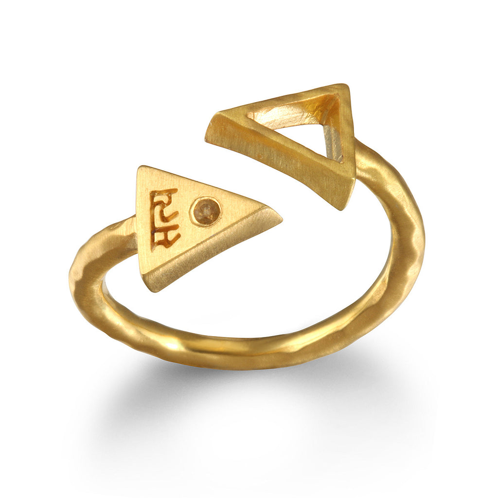 Preeminent Path Gold Ring - Satya Jewelry