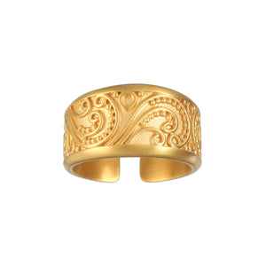 Embrace of Love Gold Ring - Satya Jewelry