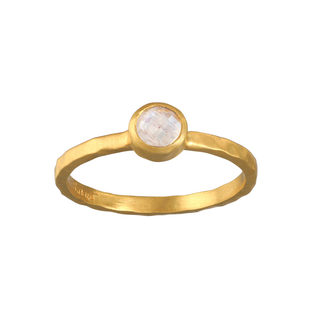 Soulful Substance Moonstone Ring - Satya Jewelry