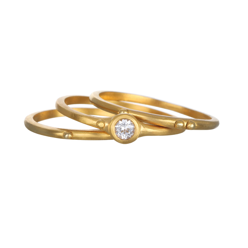 Divine Understanding Ring Set - Satya Jewelry