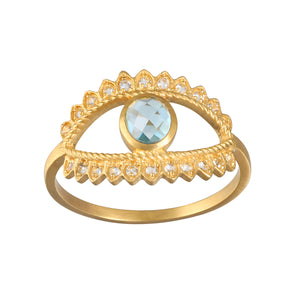 Keeper of Positivity Gold Ring