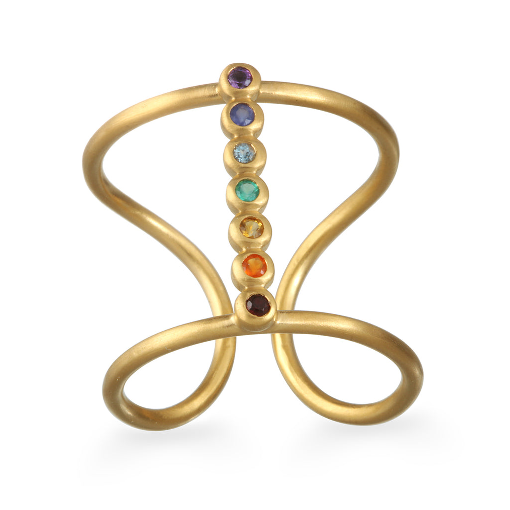 Divine Alignment Chakra Ring - Satya Jewelry
