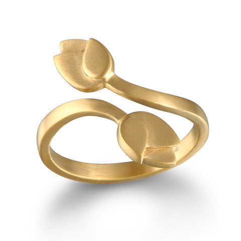 Preeminent Path Gold Ring