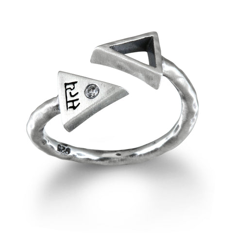 Silver Ganesha Men's Ring - Big Sky