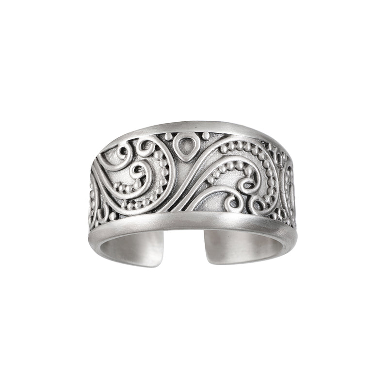 Embrace of Love Silver Ring - Satya Jewelry