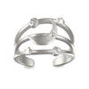 Heavenly Compass Silver Ring