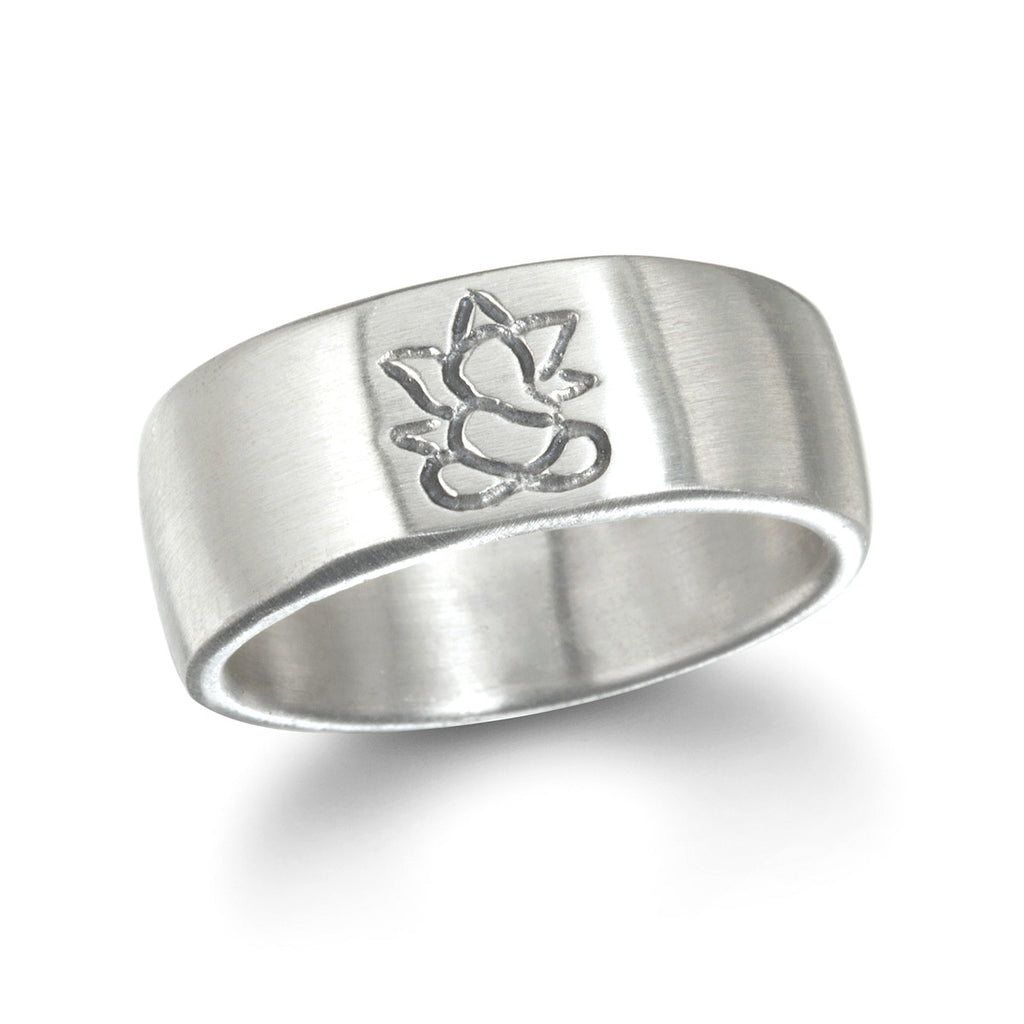 Silver Ganesha Men's Ring - Big Sky - Satya Jewelry