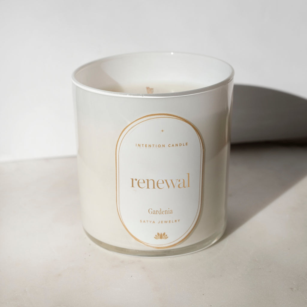 Renewal Intention Candle