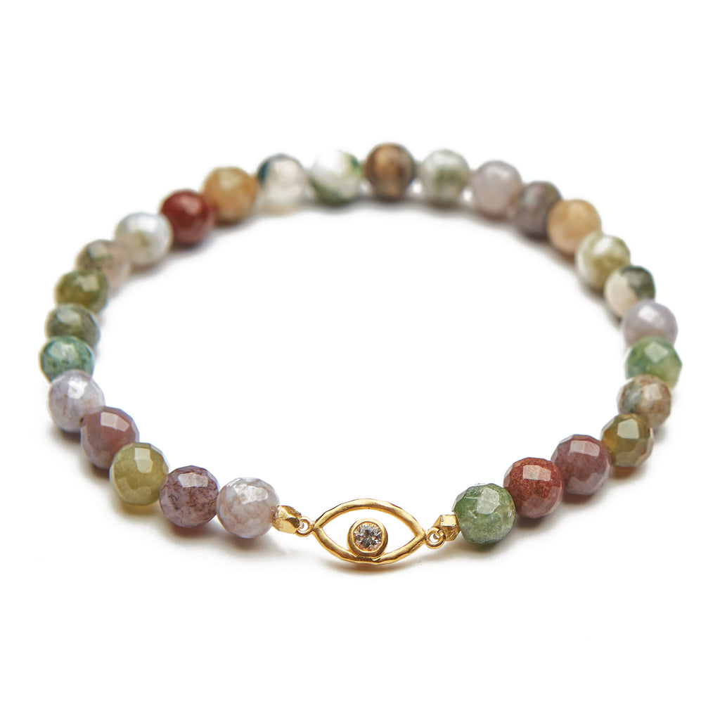 Eye Fancy Jasper Bracelet - Satya Jewelry