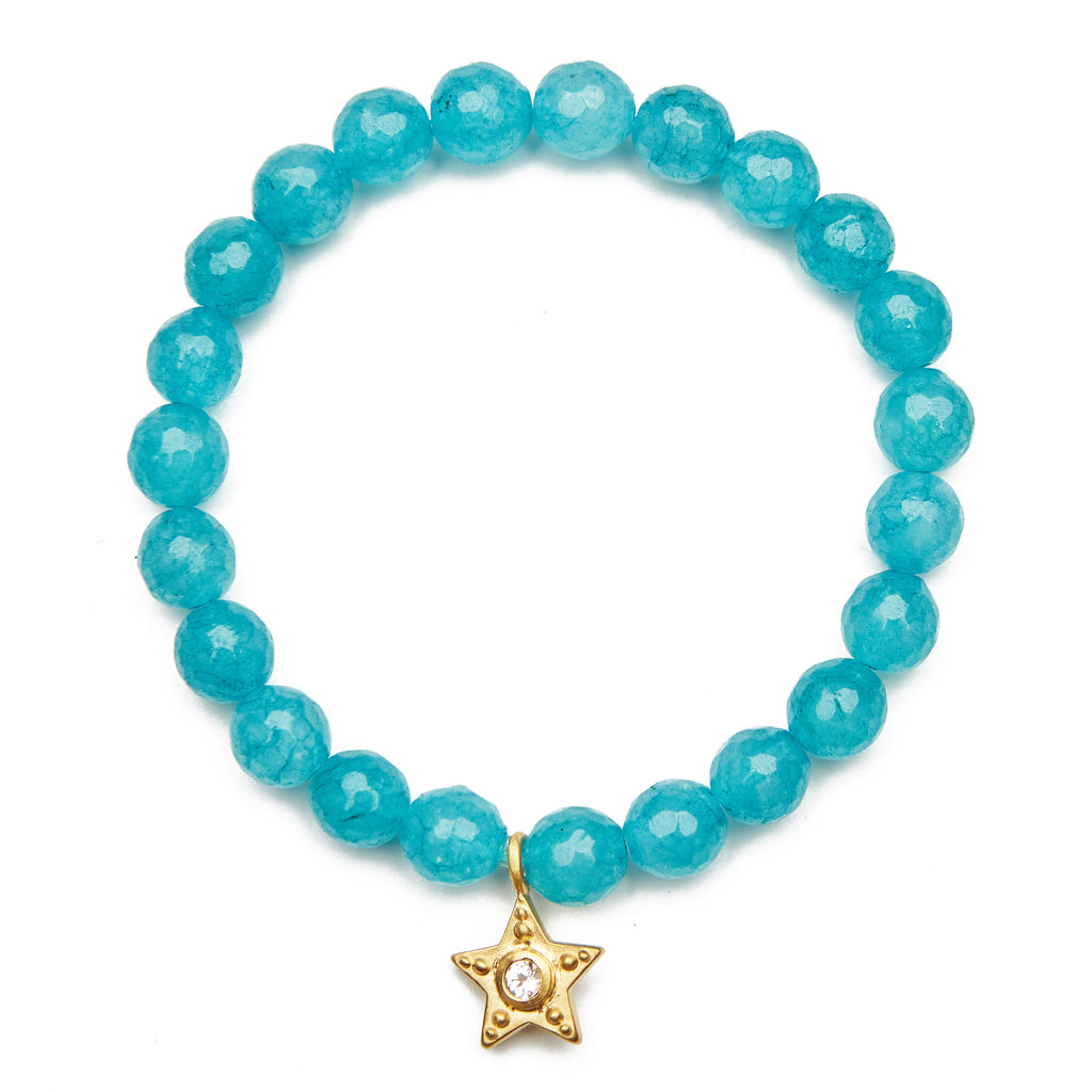 Star Angelite Bracelet - Satya Jewelry