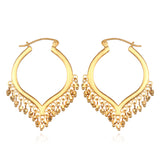 Lustrous Light Gold Earrings - Satya Jewelry