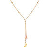 Infinite Dreams Moon Lariat Necklace - Satya Jewelry