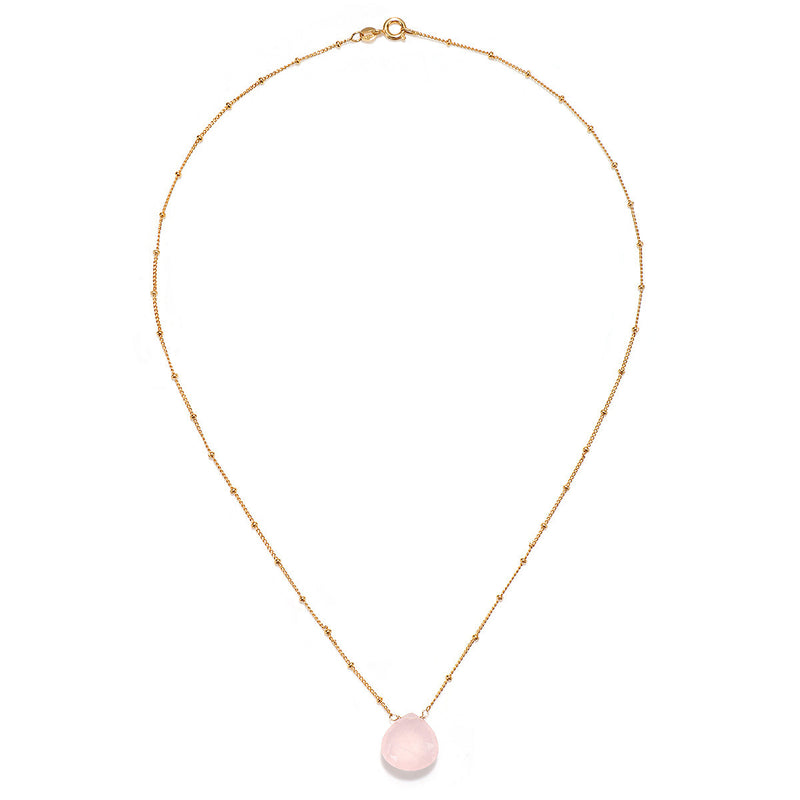 Cultivate Compassion Rose Quartz Necklace - Satya Jewelry