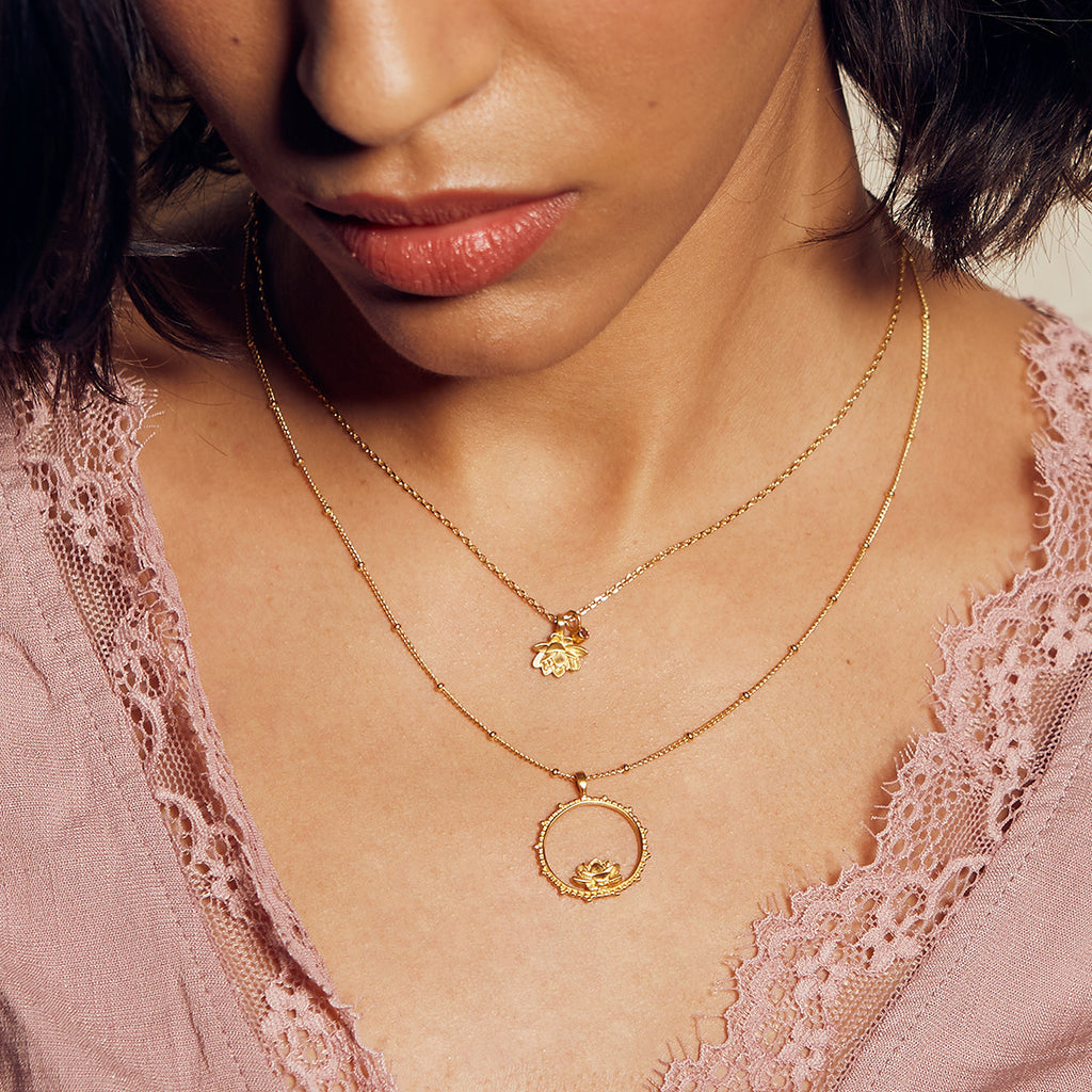 Bloom in Peace Necklace - Satya Jewelry