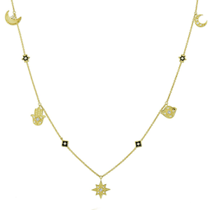 Divine Influence Diamond Necklace