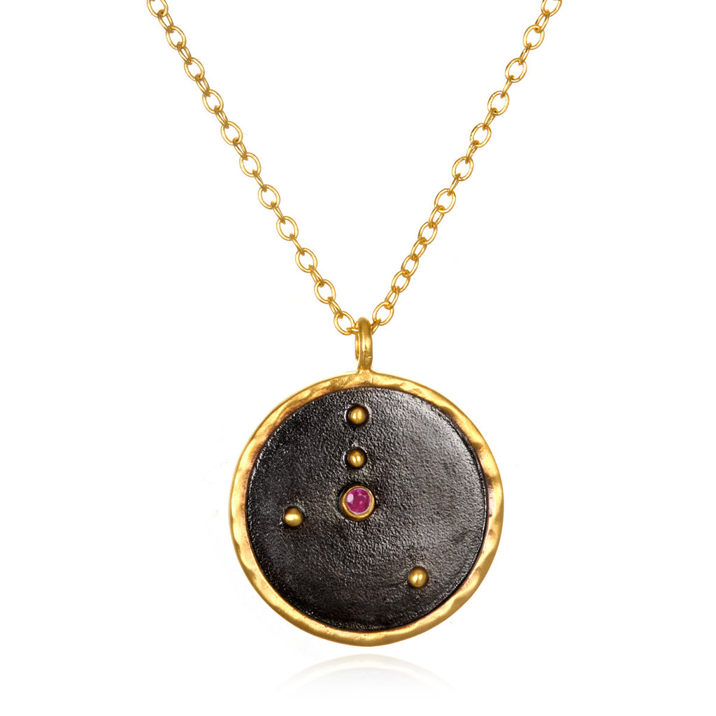 Cancer Zodiac Necklace - Satya Online