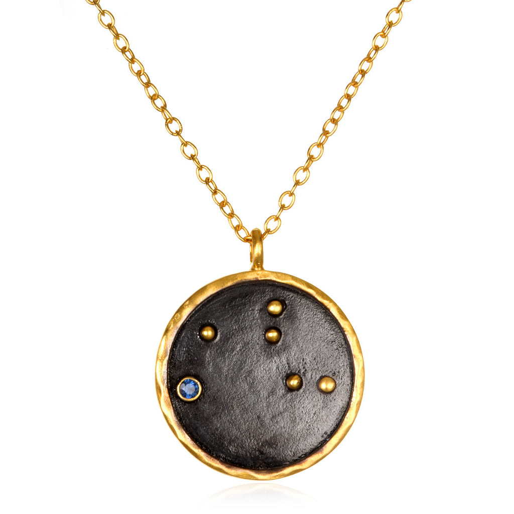 mar zodiac may products silver jun gold apr pendant gemini disc grande rose necklace aries