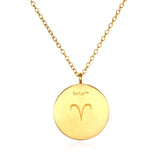 Aries Zodiac Necklace - Satya Jewelry