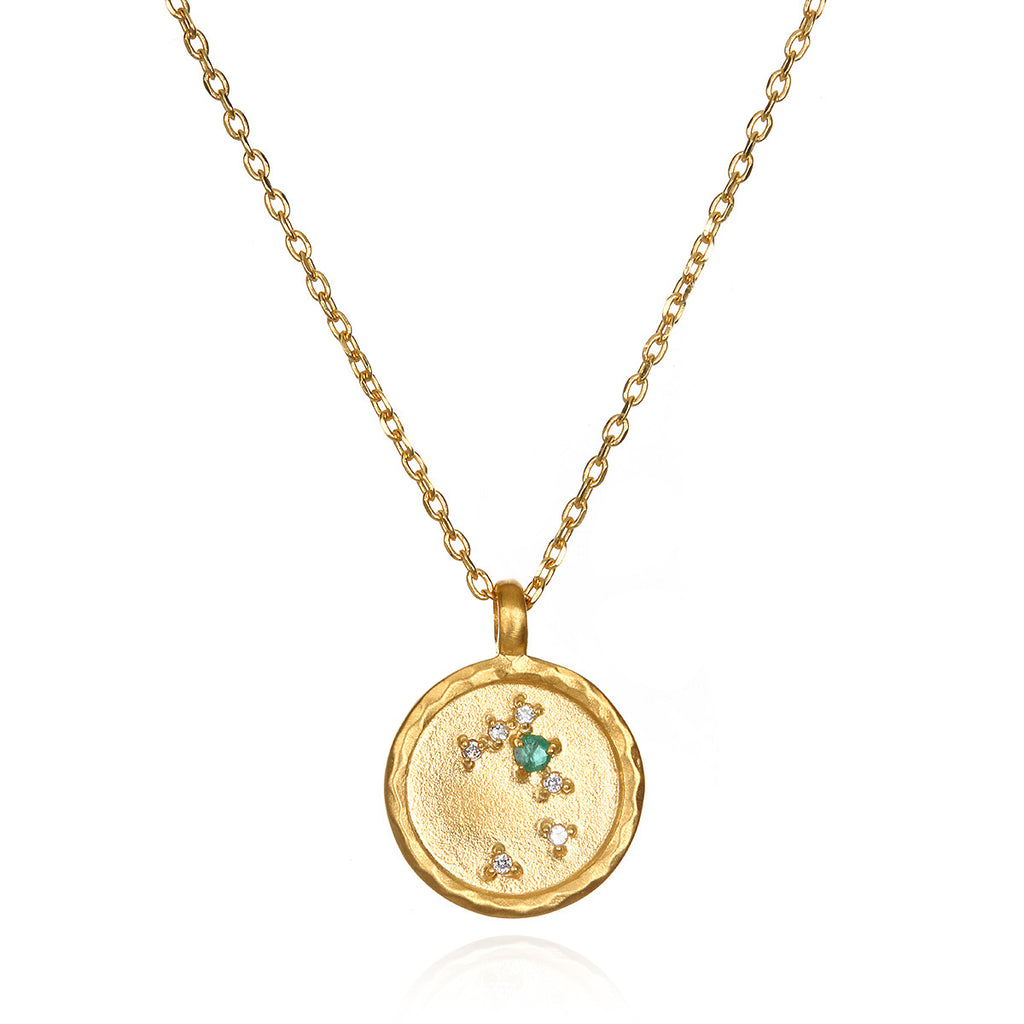 Taurus Zodiac Necklace Gold - Satya Jewelry