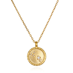 Aries Zodiac Gold - Satya Jewelry