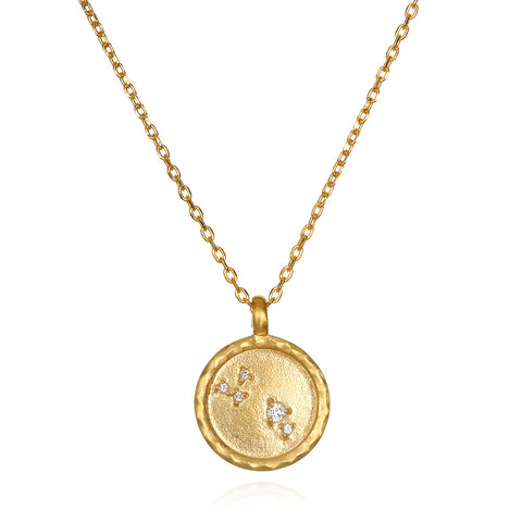 The AstroTwins Scorpio Zodiac Necklace