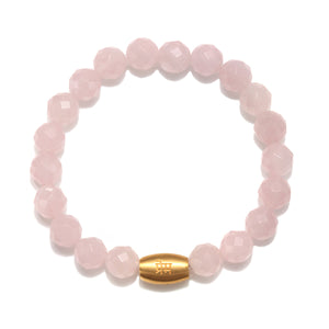 Power of Love Rose Quartz Bracelet - Satya Jewelry
