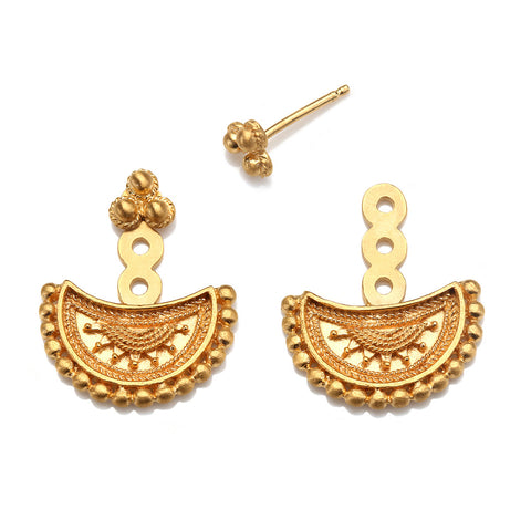 Limitless Stud Earrings Gold