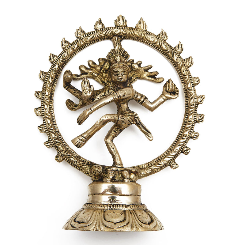 Shiva Hindu God, Brass Statue - Satya Jewelry