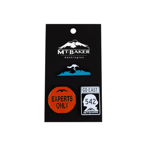 Classic Baker Pins - 3 Pack