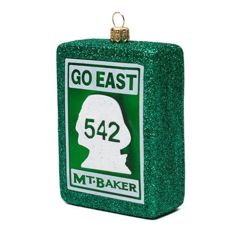 Go East Ornament