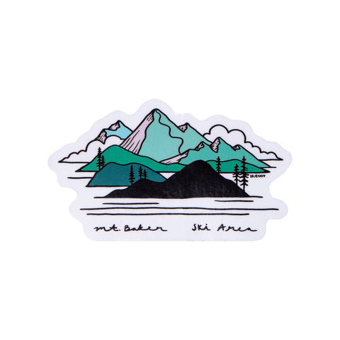 Bakerview Sticker