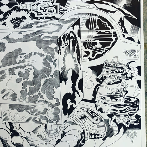 Jack Kirby Owned Art & Photostats
