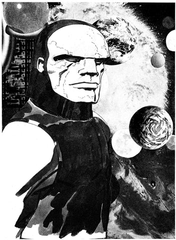 Darkseid Limited Edition Prototype - Jack Kirby