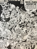 Rare Jack Kirby Strange Tales Poster 1975 - Jack Kirby