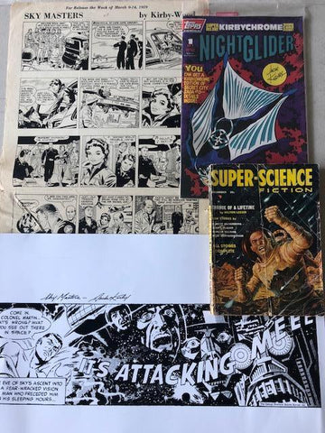 Jack Kirby Art & Print Package #7 - Jack Kirby
