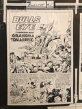 One-of-a-kind Bullseye Proof:  Simon & Kirby - Jack Kirby