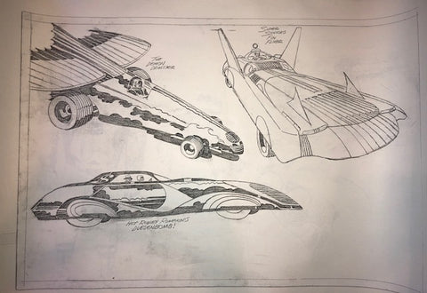 Jack Kirby Dragsters Stat - Jack Kirby