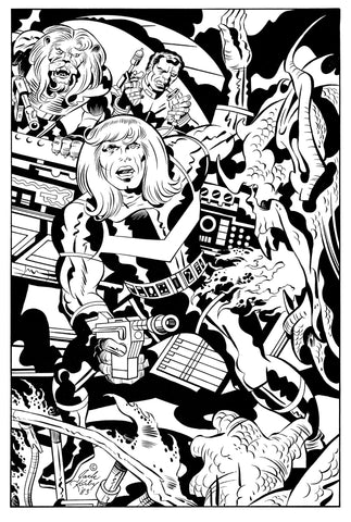 Captain Victory Three Print Collection - Jack Kirby