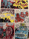 Jack Kirby Colored Captain Victory #1 Page 7 - Jack Kirby
