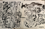 Huge Jack Kirby Planetary Control Room poster - Jack Kirby