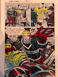 Jack Kirby Colored Captain Victory #1 Page 8 - Jack Kirby