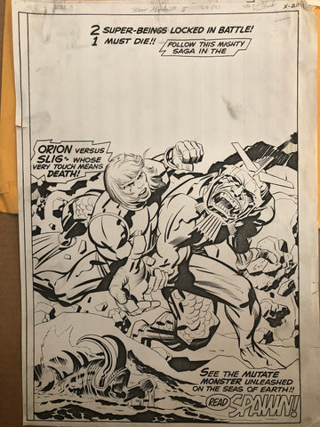 New Gods Stat - Jack Kirby