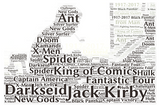 Jack Kirby Centennial T-shirt: Option 2 - Jack Kirby
