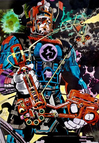 Jack Kirby Art & Print Package Makeup Edition - Jack Kirby